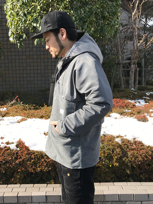 Garden Cruiser Bud Jacket (Blanket + Nylon Twill)