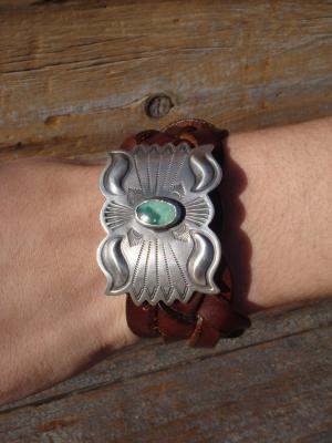 【40% OFF】 Silver Concho w/Turquoise